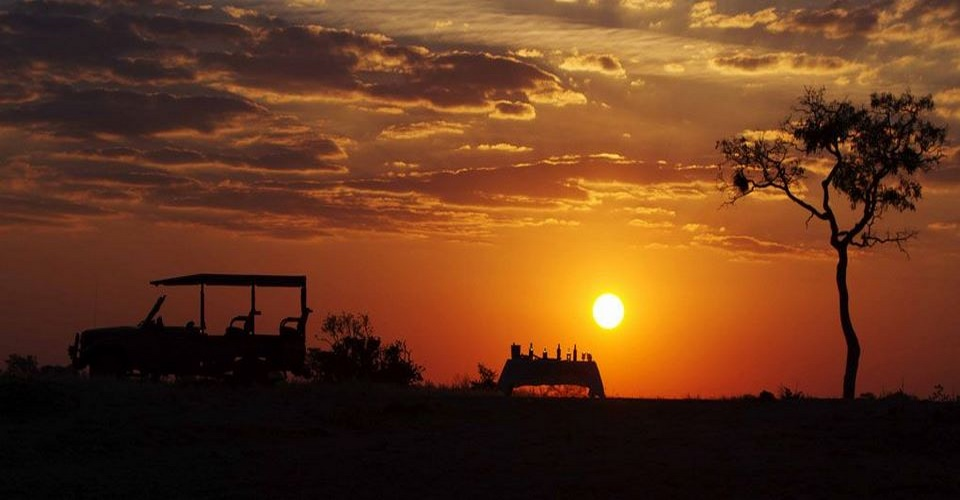 Romantic Botswana safari