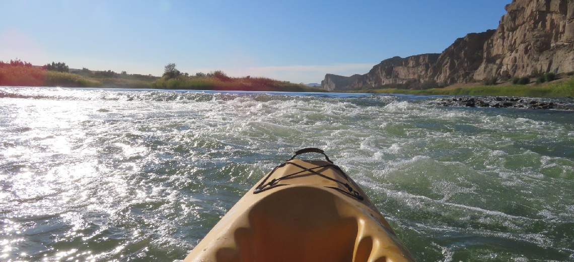 orange river kayaking