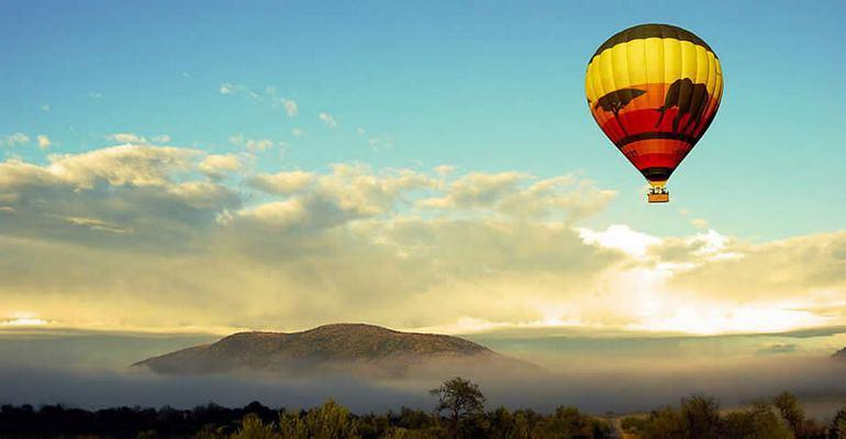 Pilanesberg Hot air balloon safaris