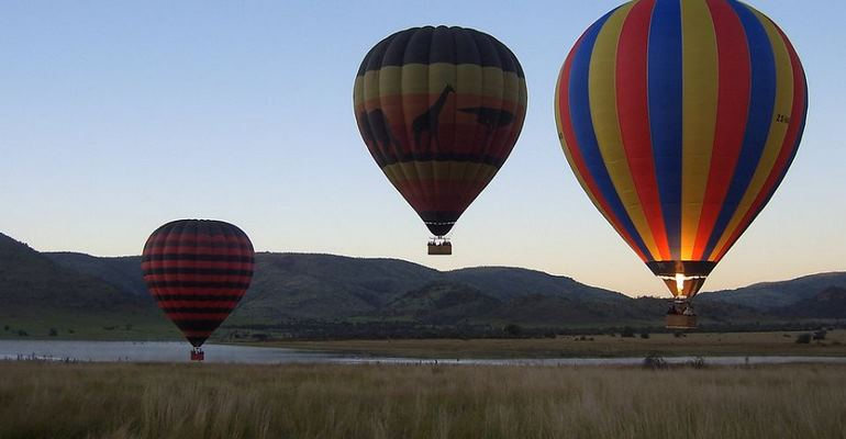 Pilanesberg Hot air balloon safaris