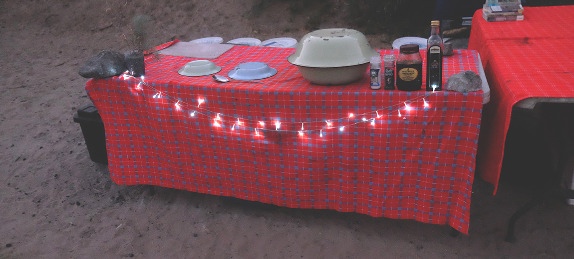 Meals on the Orange River