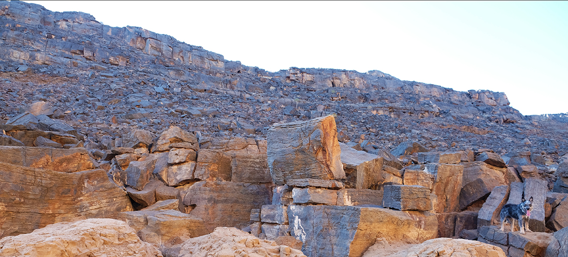 rock formations richtersveld hiking